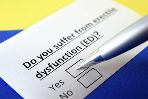 Jak zjistit, zda mám erectilní dysfunkci? Dotazník iief-5 (shim)